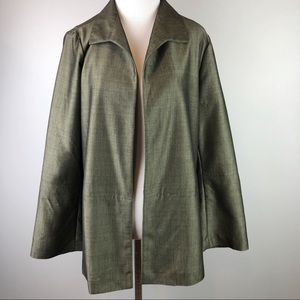 Sigrid Olson•Green Lightweight Jacket